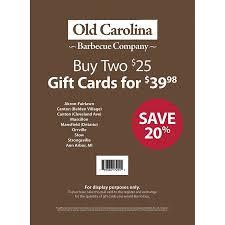 Walmart Massillon Ohio Product Of Old Carolina Barbecue 2 X 25 Bulk Savings