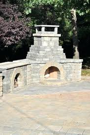 cinder block fire pit with chimney concrete block outdoor grill by versa and cinder block fire