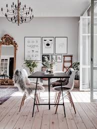 Dining Room: Black And White Wall Art In Dining Area - Gallery Wall