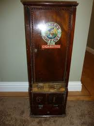 Ebay Cigarette Vending Machine Enchanting VINTAGE CIGARETTE VENDING MACHINE EBay Makes With Wood