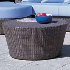 rausch eden roc outdoor wicker coffee table