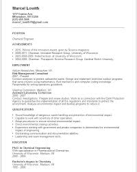 Pharmaceutical Engineer Sample Resume Inspiration Chemical Engineering Resumes Sample Mmventuresco