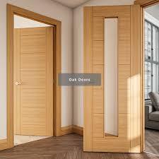 deanta range of oak interior doors