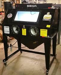 Abrasive Blasting Cabinet Set Down Sandblasting Cabinet Bb1050xld Sdb