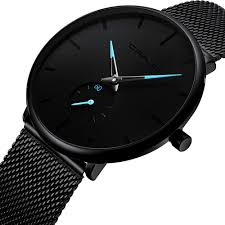 Men's Watch Unisex Minimalist Watch Waterproof ... - Amazon.com
