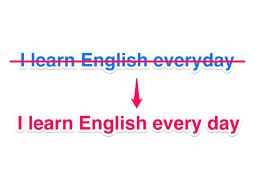Cách để phân biệt EVERYDAY và EVERY DAY