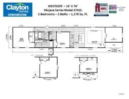 Mobile Home Sizes Chart Single Wide Single Section Mobile Home Floor Plans