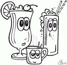 20 Coloring Pages Bars Martini Ideas And Designs