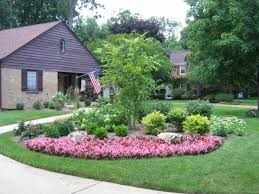 Small Picture Front Flower Bed Design Ideas Front Yard Garden Plans