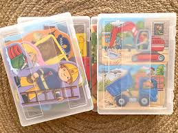 How we store puzzles. - how we montessori