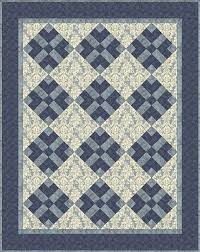Got Blues? Send Them Packing With This Easy Quilt Pattern ... & Send Them Packing With This Easy Quilt Pattern Adamdwight.com