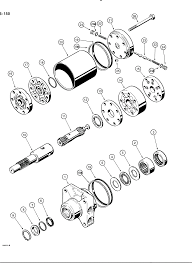Lincoln sa 250 welder wiring diagram remote car starter installation case 1835b power train d127145 hydrostatic