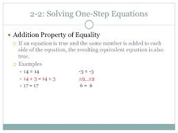 addition property of equality if an equation is true and the same number is added