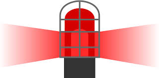 Hockey Goal Light And Horn Hockey Goal Light Clipart