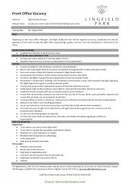 Good Hotel Front Office Manager Resume Examples Ideas Collection 100
