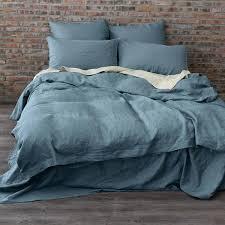 bed linen linen duvet cover set belgian linen duvet french blue linen bedding set grande