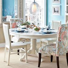 inspiring home decoration pier one imports table centerpieces ronan pedestal extension table pier e white