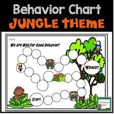 Chart Jungle Individual Behavior Chart Jungle Theme