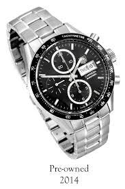 owned 2014 tag heuer cv201ag ba0725 carrera chronograph pre owned 2014 tag heuer cv201ag ba0725 carrera chronograph automatic mens watch