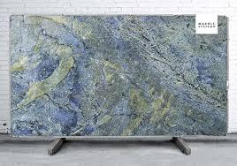 blue granite slabs