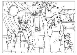 Small Picture Summer Colouring Pages