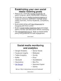 Social Media PR, Day 3, PR Bootcamp 2016