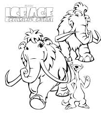 Small Picture Kids n funcouk 7 coloring pages of Ice age collision course
