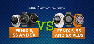 Garmin Golf Watch Comparison Chart 2018 Infographic Garmin Fenix 5 5s 5x Vs Fenix 5 5s 5x Plus