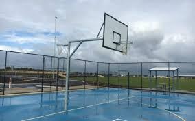 netball and basket goals
