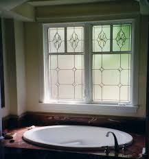 san antonio bathroom stained glass windows
