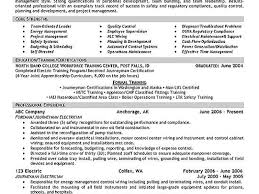 breakupus mesmerizing top health and safety officer resume samples breakupus great sampleresumebcjpg nice electrician resume example and marvellous med surg resume also resume cover