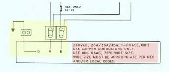 hot tub wiring diagram hot tub wiring connection diagram