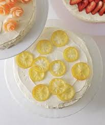 6 Easy Cake Decorating Ideas Food Drinks Candied Lemons