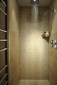 modern shower tile design ideas bathroom contemporary with neutral colors tile flooring shower shelf