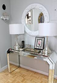 mirrored furniture decor. Ebay Mirrored Console Table Iron Italian Furniture For Foyer Decor