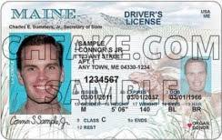Maine Fake Buy Id Identification Scannable