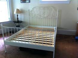 Metal Bed Frame Queen Headboard. Queen Size Metal Bed Frame With ...