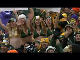 Bikini girls at lambeau field