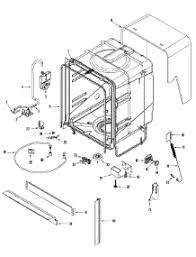 parts for amana adbaww dishwasher com 06 tub parts for amana dishwasher adb2500aww from com