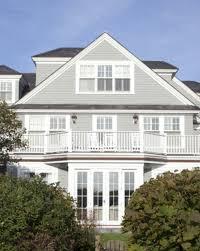 Dainty Greige Exterior Colour Scheme Hamptons House Building A Coastal Home  in Exterior Color Schemes