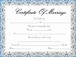 Free Marriage Certificate Template Word New Fountain Swirls Marriage
