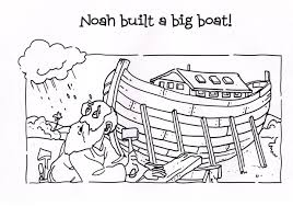 Small Picture Noah Coloring Pages For Preschoolers Archives At Noahs Ark