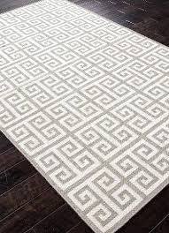 key flat wool rug gray zoom greek rugs uk