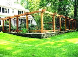 Backyard Fence Designs Best Vegetable Garden Ideas Vegetable Garden Fence Ideas Wood Backyard