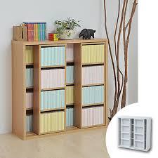 double slide bookshelf bookshelf paperback book ic storage cd dvd storage shelves movable shelves wooden living storage cartoon open rack multipurpose