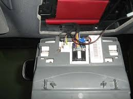 radar detector wiring installation clips on overhead console