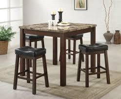 Modern Metal Frame Fossil Marble Solid Oak Dining Table Set Buy