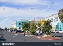 facebook office in usa. December 27, 2017 Menlo Park / CA USA - Colorful Facebook Office Buildings Located In Usa U