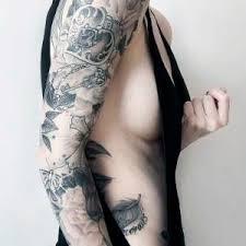 Barva Tetování Barva Pokožky Black House Tattoo