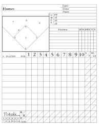 Baseball Charts Printable Printable Baseball Field Position Chart Onourway Co